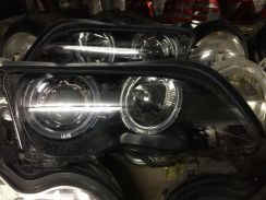 BMW E46 4 door lampu depan original