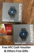Garmin Vivoactive 3 Music Watch & Many Free Gifts