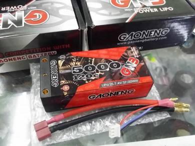 GNB 7.4V 2S 5000mAh 120C Shorty Lipo Battery