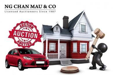 Bukit Mertajam, Penang,Flat low cost for Auction