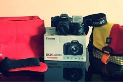 Canon 600D (Full Set) with Additional Goodies