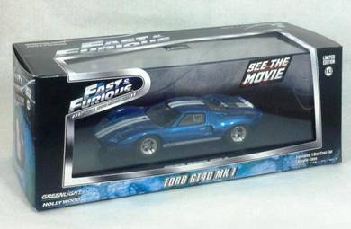 Greenlight F&F Ford GT40 MK1 Blue