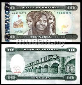 Eritrea 10 nakfa 1997 p 3 unc