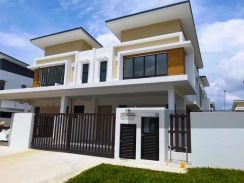22x85 double storey house selling fast now at bandar enstek