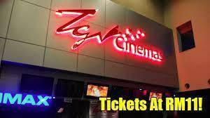 TGV Movies Ticket