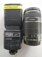 Lens canon 55MM-250MM