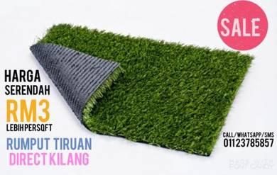 BIG PROMO rumput tiruan & artificial grass
