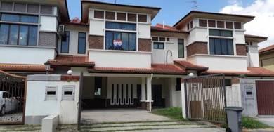 Double storey house at taman perling laguna johor bahru johor