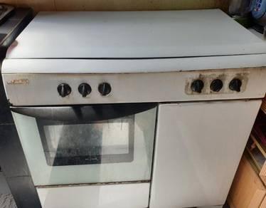 Dapur sekali oven zanussi