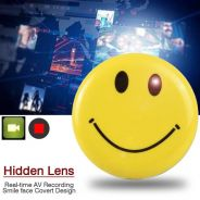 (Promotion) 24Hr Smiley Face Badge Camera FHD1080p