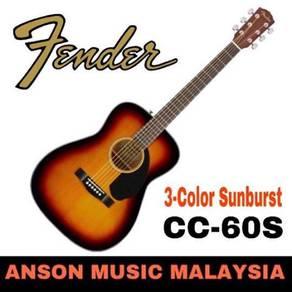 Fender CC-60S Concert, 3-Color Sunburst