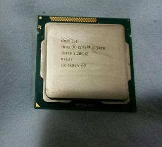 Intel processor core i5 3470