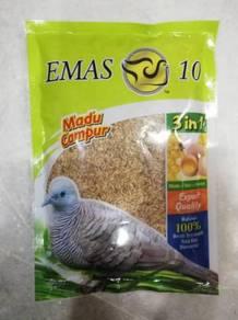 Emas10 Madu Paddy 300gram Bird Feed Makanan Burung