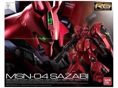 RG 1/144 MSN-04 Sazabi