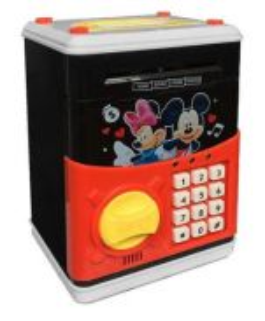 Cartoon Piggy Bank ATM Money Box kids new