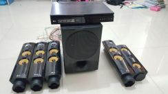 2Ndhand cheap sell LG player with 5 speaker