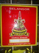 Sticker Selangor - Window Sticker