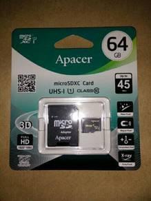 Memory card 64gb / Memori kad Class 10