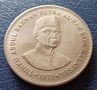 RM5 Siri Parlimen 1971 Tunku Abdul Rahman