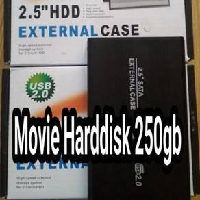 Hardisk Movie 250gb+MalaySub