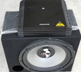 Mohawk double coil & Alpine amp