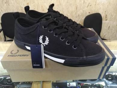Fred Perry Shoes Black