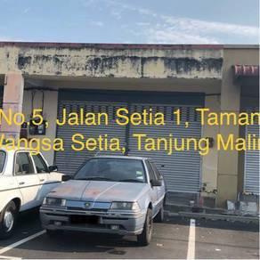 Tanjung malim single storey 20 x 70 feet shoplot