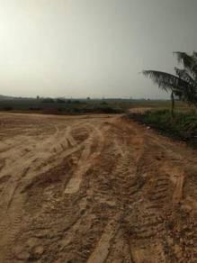 Lot siap Infra, tepi Taman Bukit Rambai Boleh guna loan kerajaan