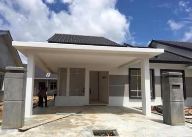 Freehold Semi D Kuala Sungai baru,Kuala Linggi, Infront Akademi Laut