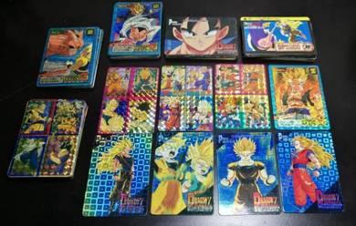 Original Dragonball Z cards