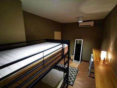 Double Decker Room Rental at Gaya Street