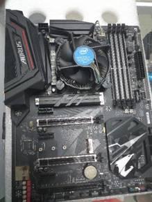 I5-8400 AorusZ370 4x8gb HyperX