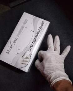 DisposabIe glove (latex)