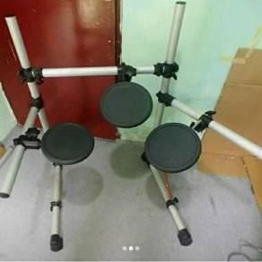 Rack Drum Yamaha DTX Bersama Pad Drum Yamaha