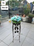 (10) Flower With Stand/ Bunga dengan Stand