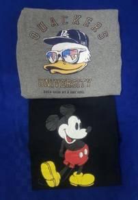 Combo DuckDude/Mickey Tshirt