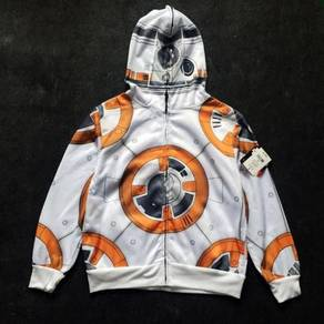 Star wars bb8 robot hoodie for kids