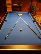 TABLE POOL 8 feet coin operation
