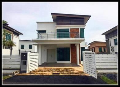 New 2 Sty Bungalow, Paya Rumput Perdana, Freehold