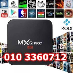 Android TVBOX / TV Box MXQ PRO 4k Latest