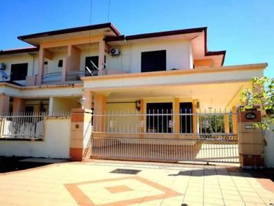 Corner Double storey terrace house Lutong baru