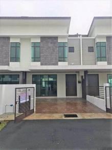 Newly completed Double Storey Taman Saujana KLIA Sepang Kota Warisan