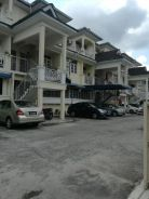 Double Storey townhouse fully furnished