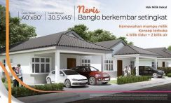 Semi d single storey neris