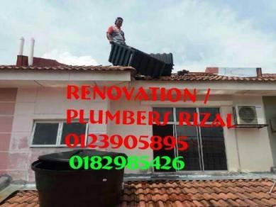 Repair roof leak setia eco park
