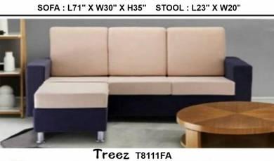 Furniture/ 3L Fabric Sofa #T8111