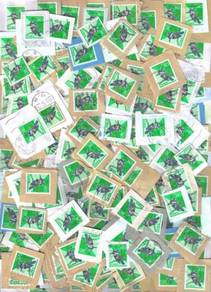 100Pcs Wholesale Massive Bird Fauna Japan Stamp