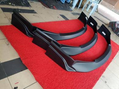Civic fd type r js racing front skirt lips lip uh