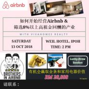 Free airbnb talk at ipoh