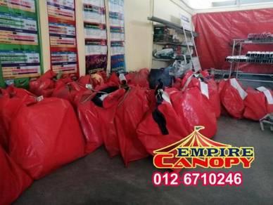 Canvas-canopy piramid - saiz 10x10